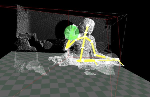 Kinect SDK data cluster and skeletal tracking